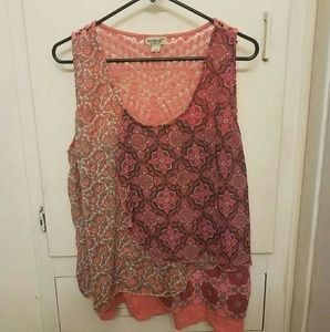 One World Pink Blouse